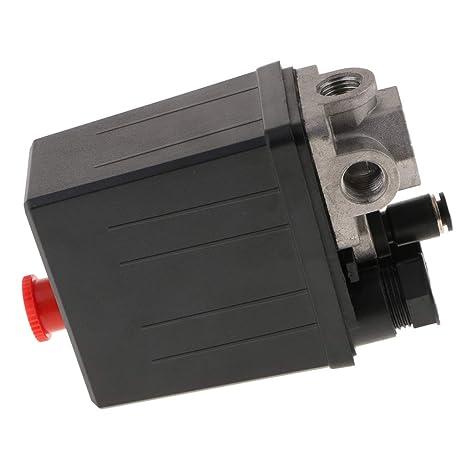 Homyl Conector de Válvula de Escape de Presión de Gas para Compresor Aire - tamaño 1