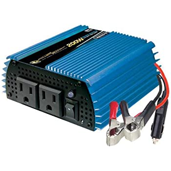 Amazon power bright pw200 12 power inverter 200 watt 12 volt dc power bright pw200 12 power inverter 200 watt 12 volt dc to 110 volt ac publicscrutiny Image collections