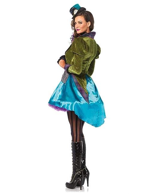 Horror-Shop traje de Sombrerero Loco para las mujeres S  Amazon.es   Juguetes y juegos 92479fa2e8a