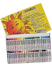 Cray pas Junior oliepastelkrijt, verschillende kleuren, 12 stuks