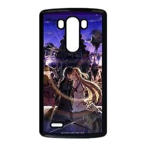 Sword Art Online LG G3 Cell Phone Case Black WS0233455