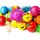 Stress Ball - Puffer - Stress Relief Toys Value Assortment Bulk 1 Dozen Stress Relax Toy Balls, Squeeze Ball Puffer Ball Assortment! Great Most Popular Selection of Hand Exercise Balls & Therapy Balls