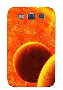 Premium Tpu Burning Sun Cover Skin Series For Galaxy S3