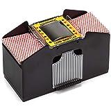 Best Card Shufflers - Automatic Card Shuffler For Poker/Casino Games (Plastic; 4-Decks) Review