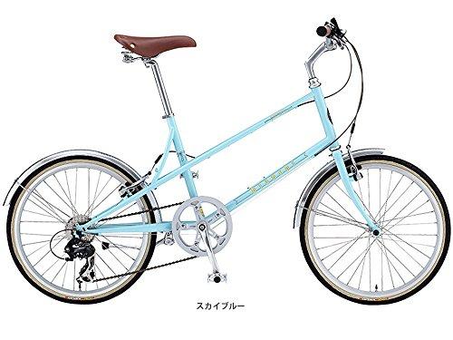 ビアンキ(BIANCHI) CYCLE 2016 MINIVELO-7 LADY ミニベロバイク スカイブルー 39