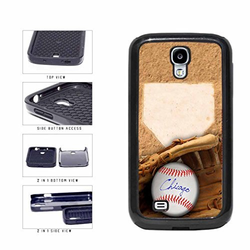 Chicago Blue Glove and Baseball 2-Piece Dual Layer Phone Case Back Cover Samsung Galaxy S4 I9500