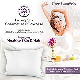 LilySilk Sleep Silk Pillowcase for Hair Genuine