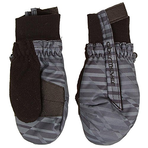 Obermeyer Thumbs Up Print Mittens, Large, Stripe Out (Stripe Mitten Clips)