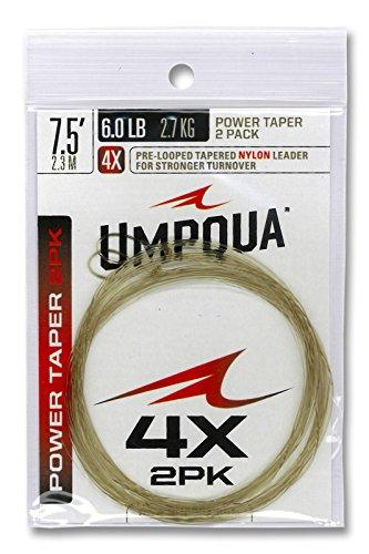 2 Pack) 7.5' 4X Leader (Hopper Copper Dropper)