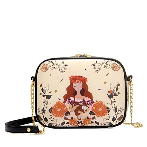 MAINLYCOR CHB880471C3 Fashion PU Leather Women's Handbag,Square Cross-Section Small Square - Dolce Gabbana Macy's