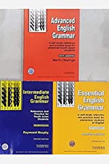 Cambridge Essential + Intermediate + Advanced English Grammar (Combo Pack of 3 Books with Answers) Paperback