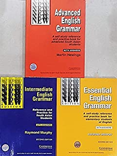 Buy intermediate english grammar with answers book online at low cambridge essential intermediate advanced english grammar combo pack of 3 books with answers fandeluxe