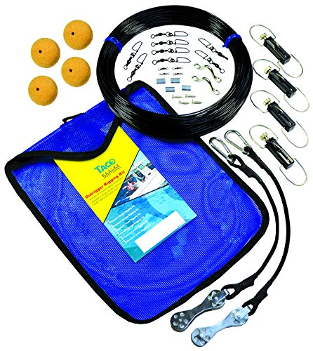 Taco Marine Premium Mono Double Rigging Kit - KT Rigging PREM DBL Mono - Premium Mono Double Rigging Kit (RK-0002MP)