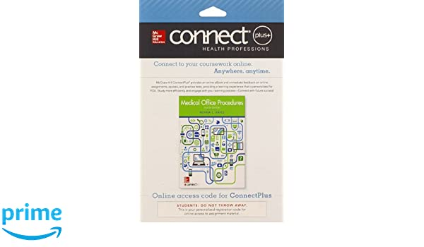 Connect access card for medical office procedures 9780077605605 connect access card for medical office procedures 9780077605605 medicine health science books amazon fandeluxe Choice Image