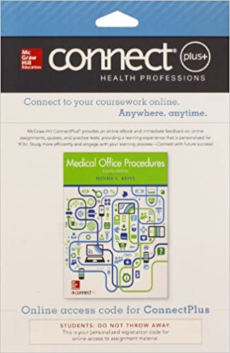 Connect access card for medical office procedures 9780077605605 connect access card for medical office procedures 8th edition fandeluxe Choice Image