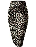 HyBrid & Company Womens Pencil Skirt for Office Wear KSK43584 10590 Black XL