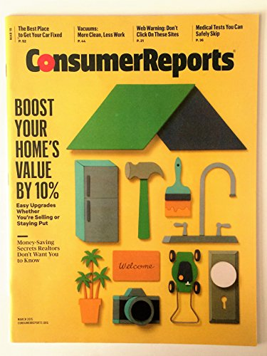 Consumer Reports Magazine - March 2015 (Best Way To Conduct A Survey)
