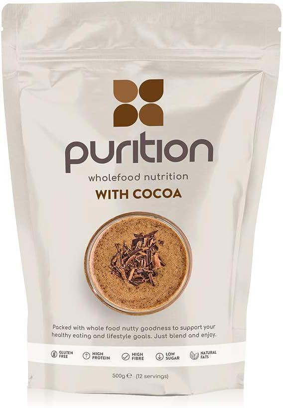 Purition Batido de proteínas de Chocolate (500g). Batido para el ...