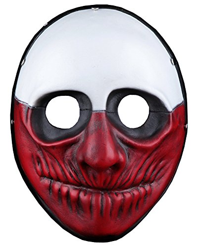 PAYDAY Wolf Mask Halloween Cosplay Resin Replica