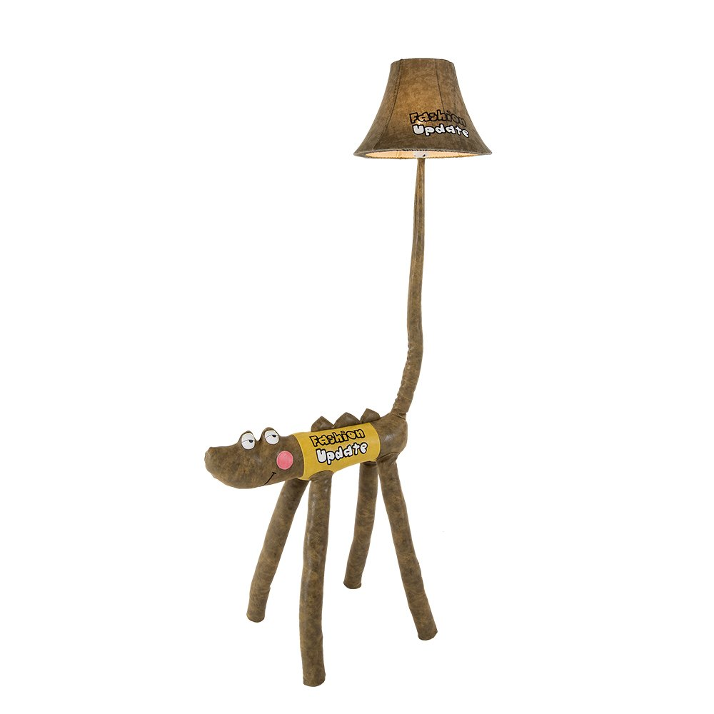 Kids Desk Lamp LED Cute Crocodile LED Floor Lamp Funny Animal children bedroom Table lamp Two Sizes Option (125cm)