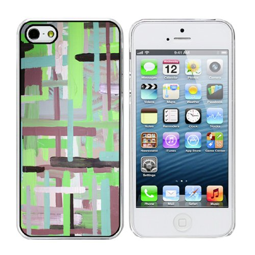 Xylaart Earthy Stripe Weave - iPhone 5 Clear -