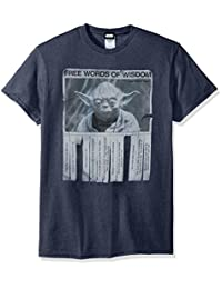 Star Wars Men's Words Of Wisdom T-Shirt