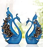 YOJDTD Decorations, Decorations, Restaurant Decorations, Artwork, Desktop Ornaments, Love The Ancient Blue, Trumpet