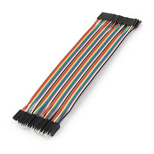 Price comparison product image Female Male 40P 2.54mm 20cm Jumper Wire Ribbon for Arduino Breadboard
