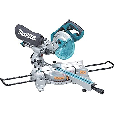 Makita XSL01Z LXT Lithium Ion Cordless Dual Slide Compound Miter Saw with Tool , 7-1/2-Inch