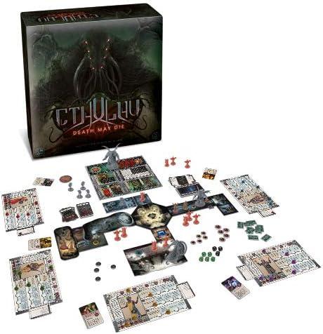 Asmodee Italia- Cthulhu Death May Die Juego de mesa CMON con espléndidas miniaturas, color, 8905 , color/modelo surtido: Amazon.es: Juguetes y juegos
