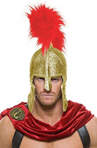 [Mememall Fashion Spartan Warrior Legions Helmet Costume Accessory] (Spartan Princess Costumes)