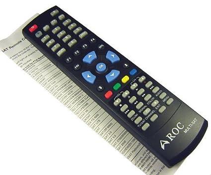 ROC Multi-Sat V2 Universal Remote Control for all Satellite TV Receiver  iLink i-Link IR-210 IR210 HDMI 8000 (code 005)