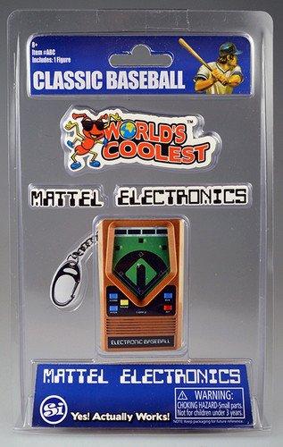 World's Largest Bubble World's Coolest Mattel Electronic Games-Baseball - Baseball Electronic