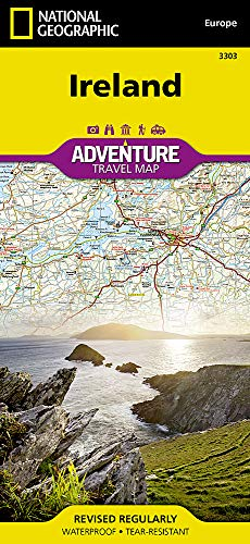 Ireland (National Geographic Adventure Map) (Visit Christmas Iceland)
