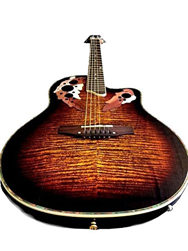 Llama Acabado de 6 cuerdas Guitarra Acústica con Cutaway/guitarra eléctrica integrado EQ: Amazon.es: Instrumentos musicales