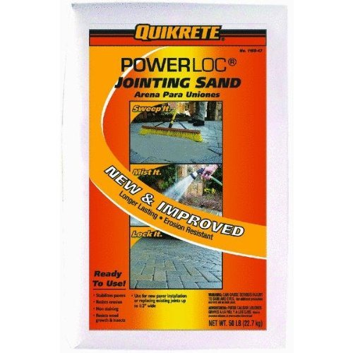 (Quikrete 1150-47 Powerloc Jointing Sand, 50 Pounds)