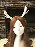 Small Chrisas antlers hair hoop headdress Halloween fairy forest in Europe and America for women girl lady