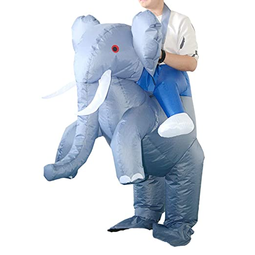 SUPVOX Traje de Disfraz de Elefante de Montar a Caballo de ...