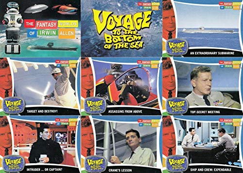 FANTASY WORLDS OF IRWIN ALLEN 2003 RITTENHOUSE COMPLETE BASE CARD SET OF 100 TV