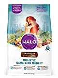 Halo Holistic Dry Dog Food for Puppies - Game Bird Medley - 4 LB Bag of Natural Puppy Food