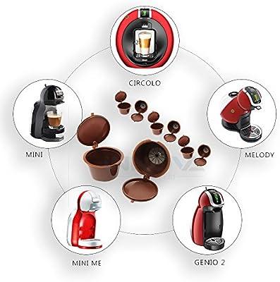 Innova® Reutilizable para filtros de cápsulas de café Dolce Gusto ...