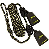Hunter Safety System Reflective TANDEM LIFELINE with 2 Prusik Knots and 2 Carabiners (New for 2015)