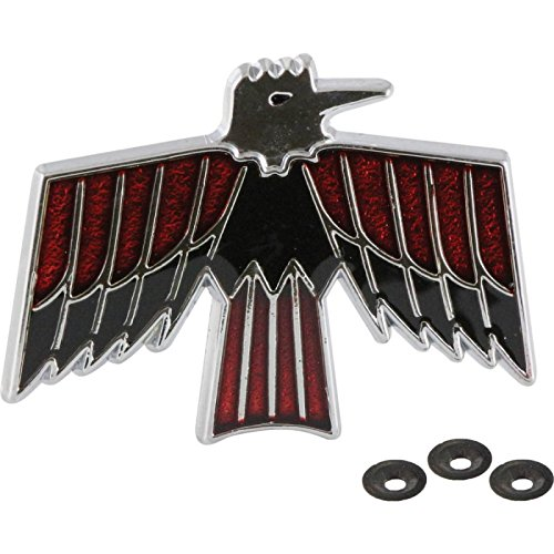 [Eckler's Premier Quality Products 75-278647 Firebird Door Panel Bird Emblem, Deluxe] (Deluxe Door Panel Emblems)