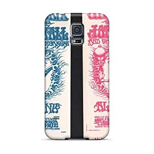 KevinCormack Samsung Galaxy S5 Scratch Protection Phone Covers Custom Beautiful Grateful Dead Pattern [gue15124Scai]