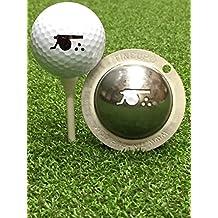 Tin Cup Golf Ball Custom Marker Alignment Tool - Cannon