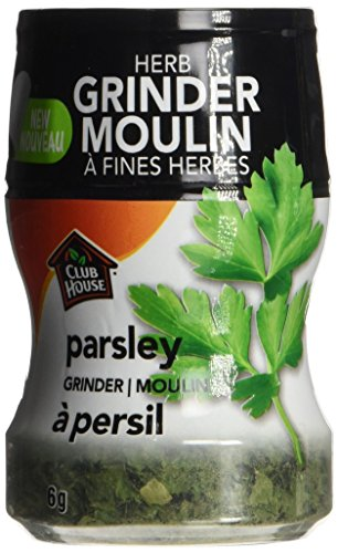 Club House, Quality Natural Herbs & Spices, Parsley, Grinder, 6g