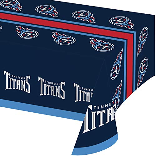 Tennessee Titans Plastic Tablecloths, 3 -