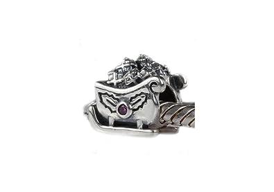 286ccc2ba Santa's Sleigh - Sterling Silver Charm Bead - fits Pandora, Chamilia ...