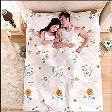 HJLHYL Pure cotton sleeper sleeping bag travel adult bedspreads portable tourist hotel hotel isolated health sleeping bag indoors