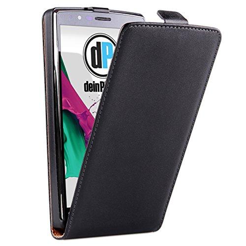 Diseño LG G4 funda de piel con colour negro